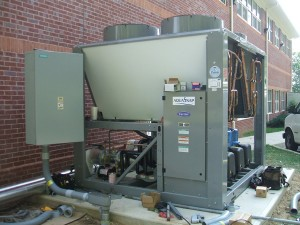 New Carrier High-Efficiency Chiller; turn-key building solutions