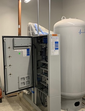 JHU Pavillion III equipment 2; Fundamental commissioning