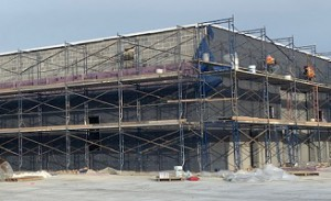 Construction of Easton Readiness Center; commissioning agent